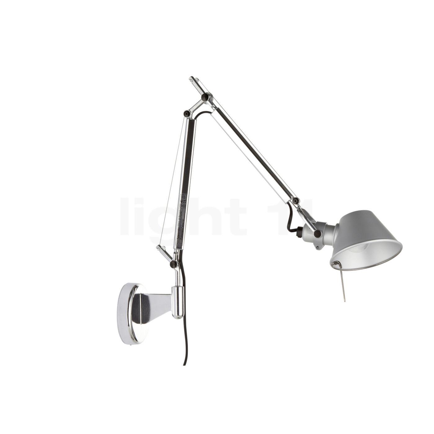 artemide tolomeo micro parete wall lights buy at lighteu -