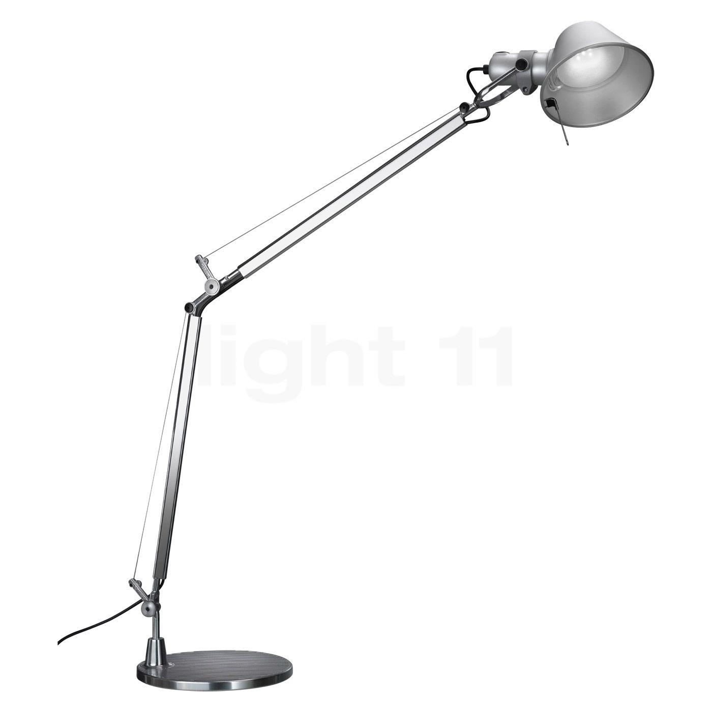 artemide tolomeo mini led avec pied lampe de bureau. Black Bedroom Furniture Sets. Home Design Ideas