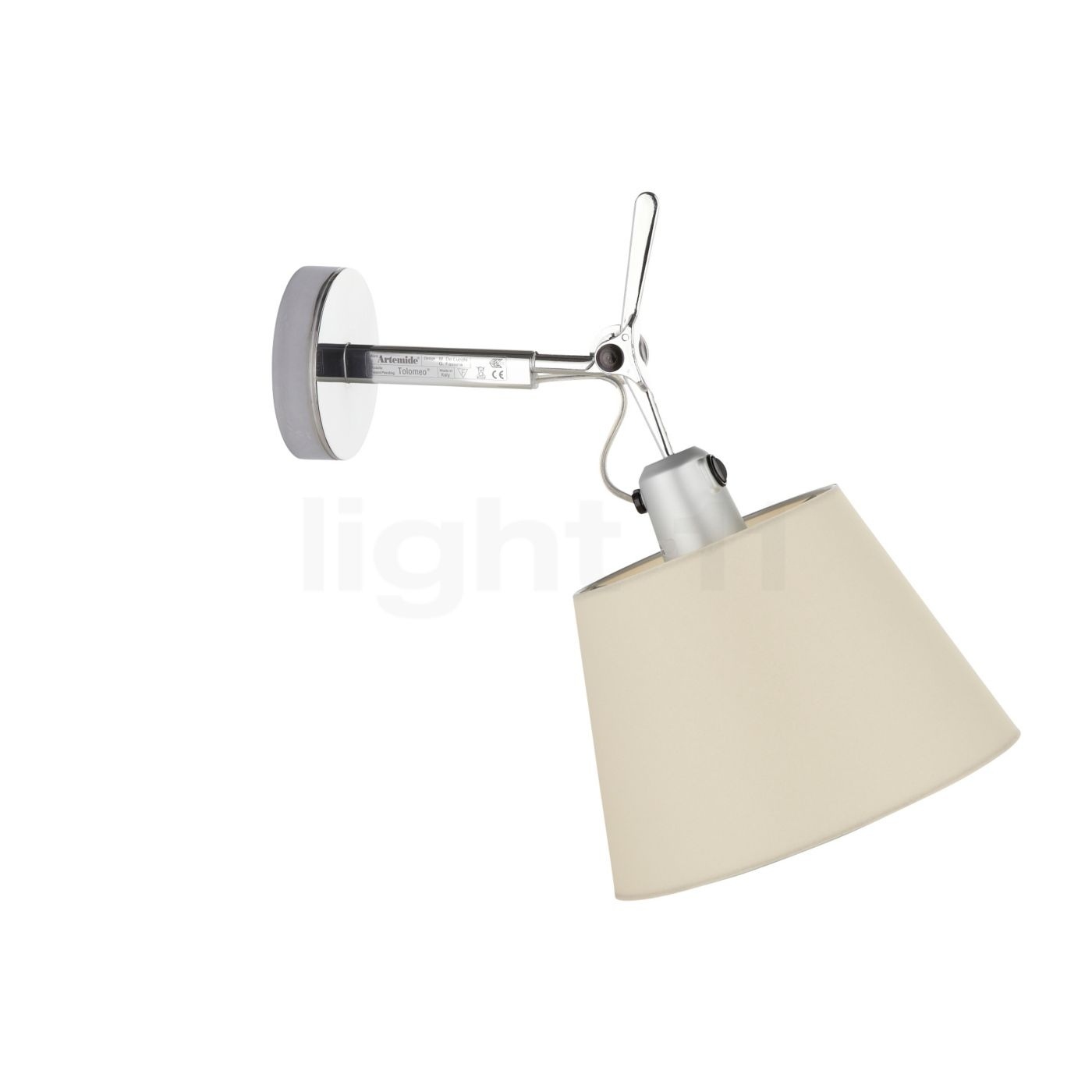 Artemide Tolomeo Parete Diffuser Wall Lights   Light11.eu
