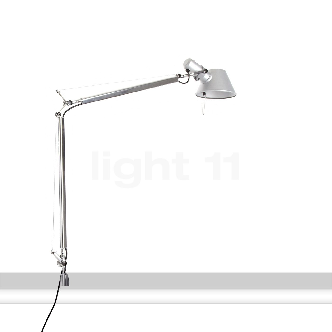 artemide tolomeo tavolo led mit schraubbefestigung tunable. Black Bedroom Furniture Sets. Home Design Ideas
