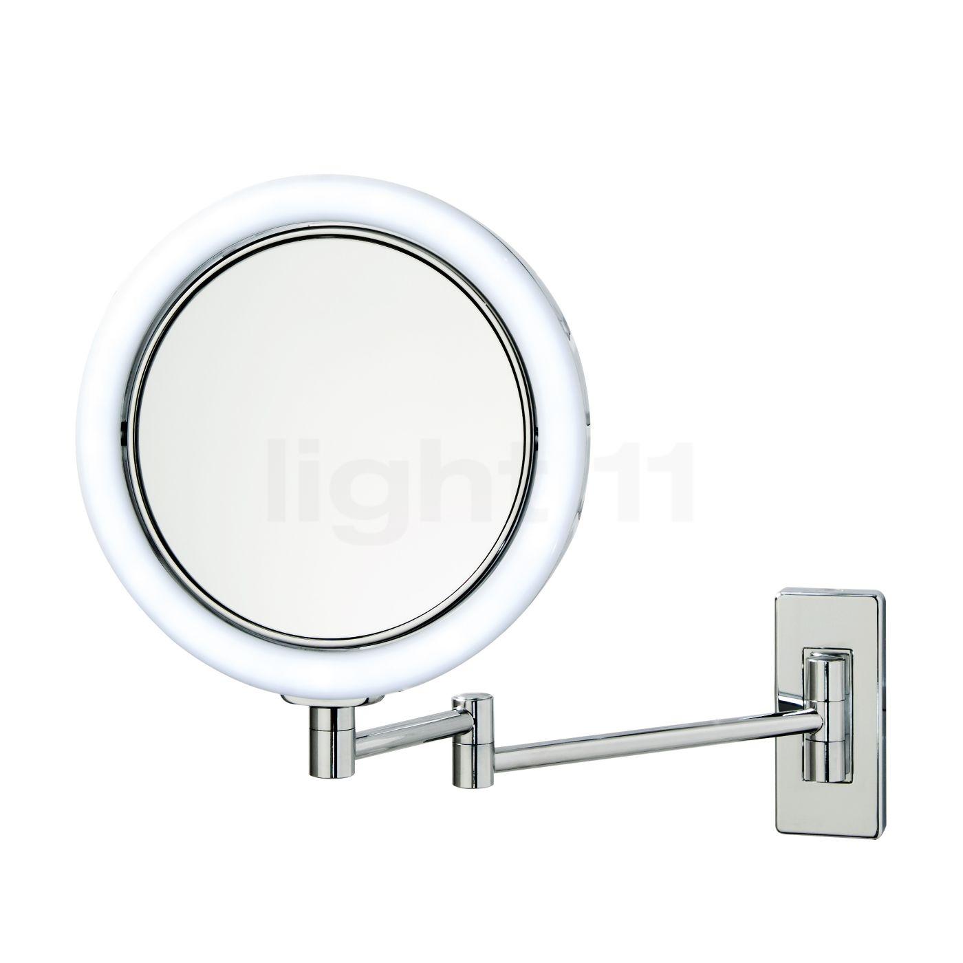 Specchio Per Trucco Da Parete.Decor Walther Bs 13 V Specchio Luminoso Da Parete Per Trucco Led