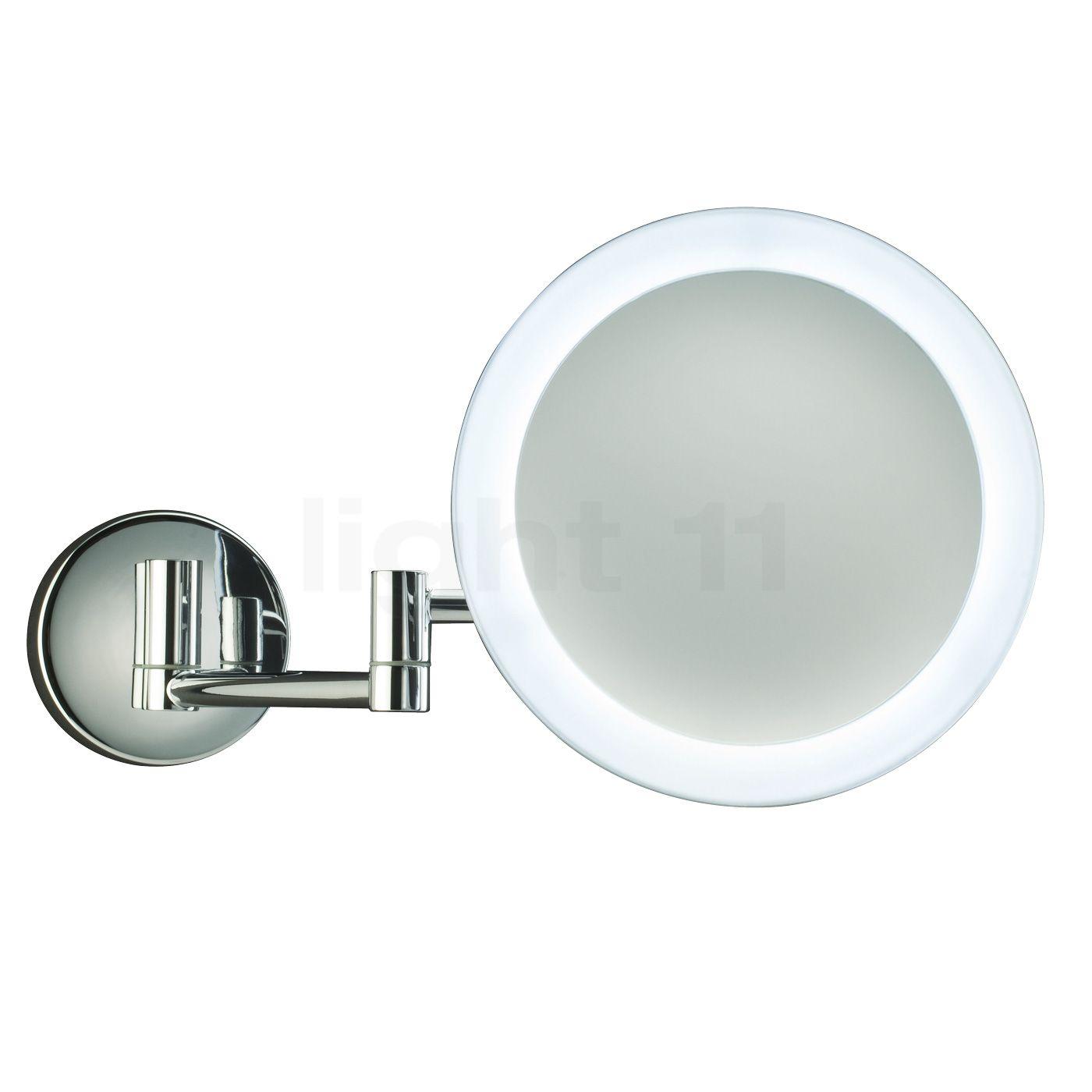 Specchio Per Trucco Da Parete.Cromo Lucido