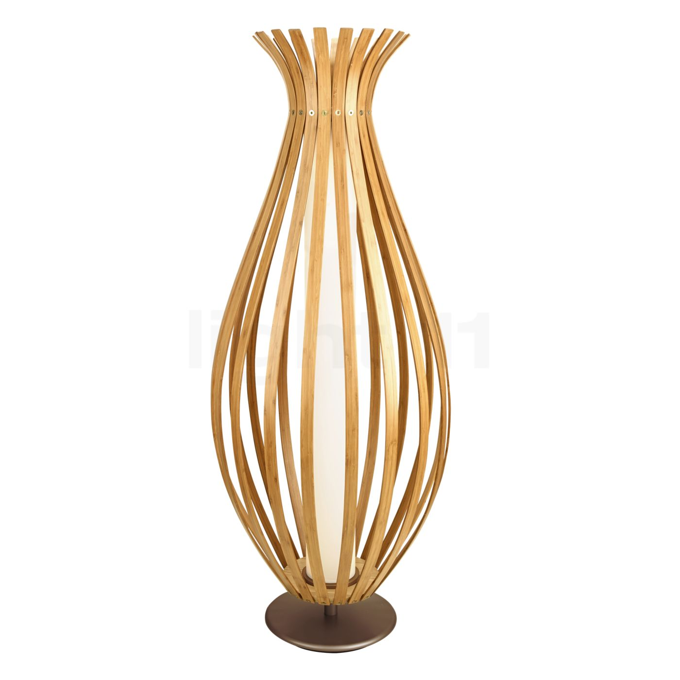 LEDS C4 Bamboo Floor lamp LED Chandeliers at light11