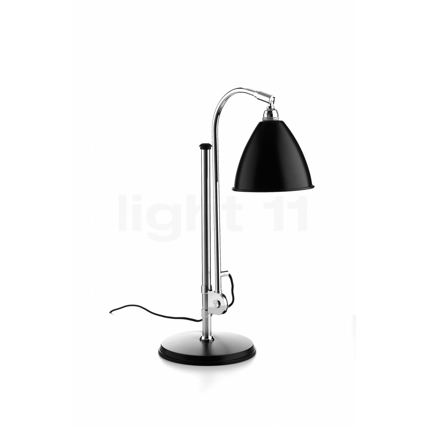 buy bestlite bl1 table lamp chrome at