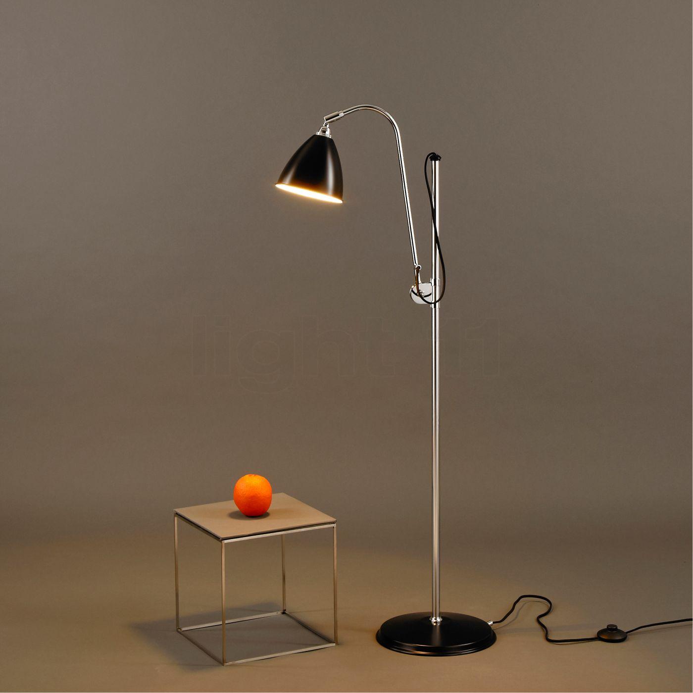 Buy Bestlite BL3S Floor Lamp chrome at light11.eu