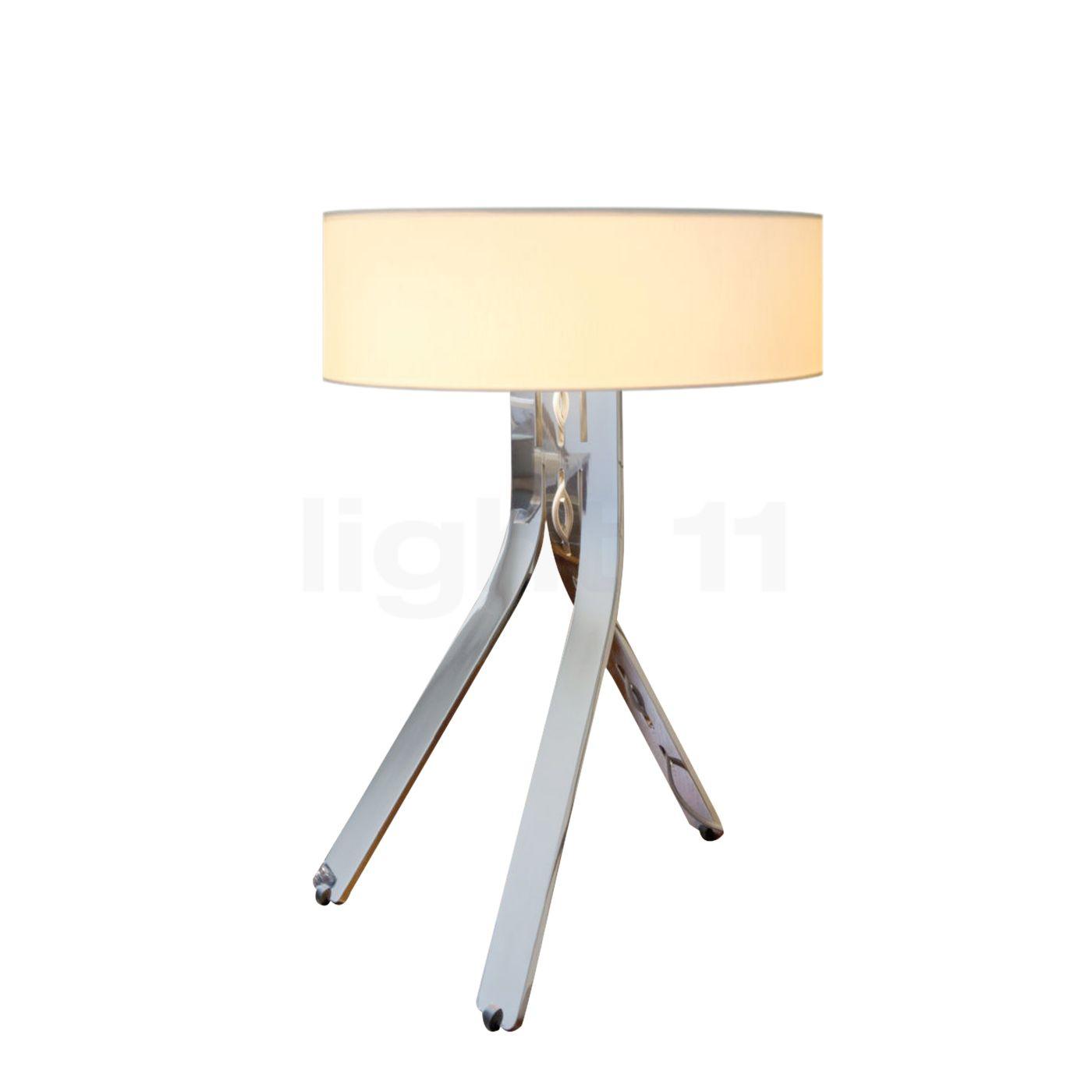 byok fino lampe de table aluminium poli. Black Bedroom Furniture Sets. Home Design Ideas