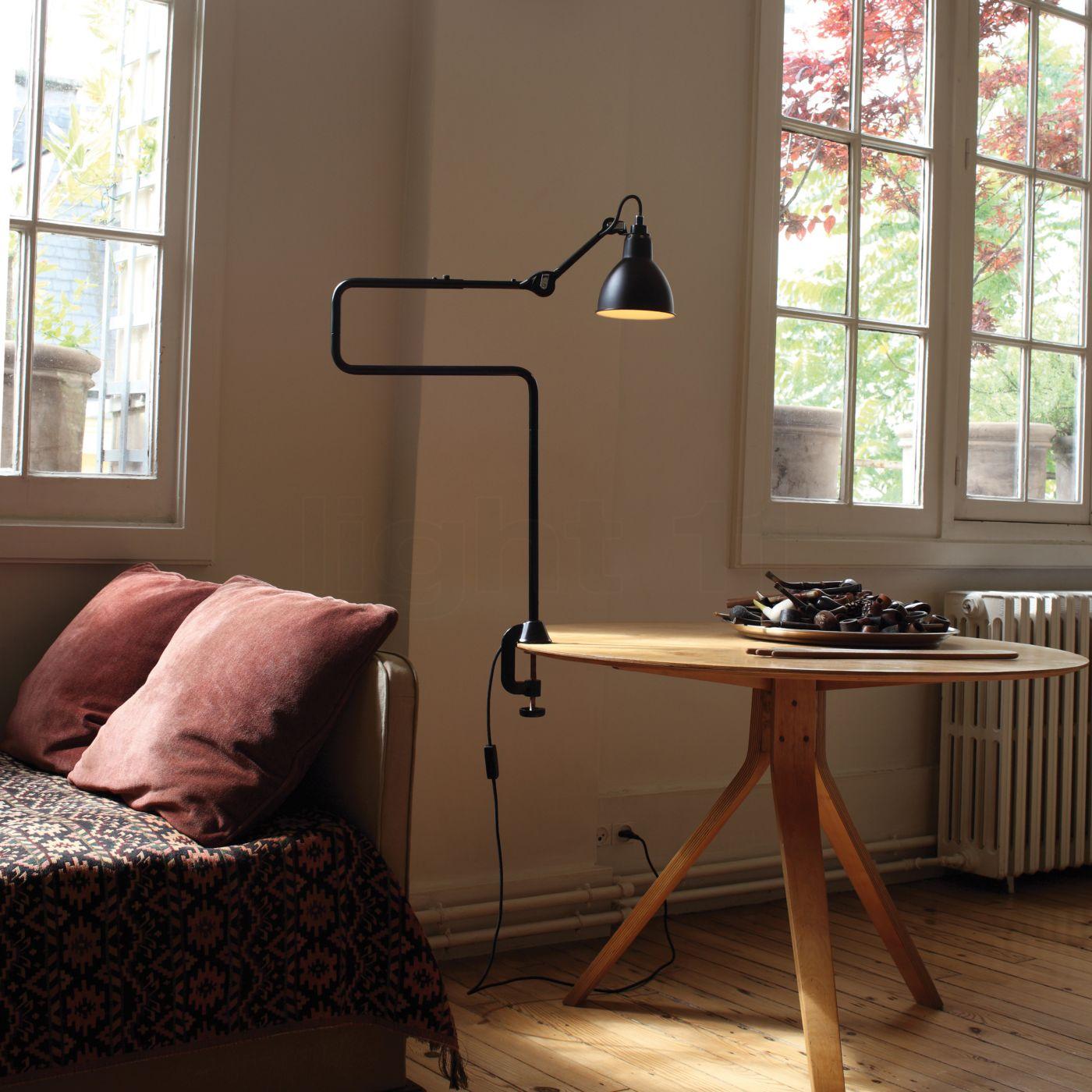 Lampe A Pince Dcw Lampe Gras No 211 311 Lampe De Table Avec Support