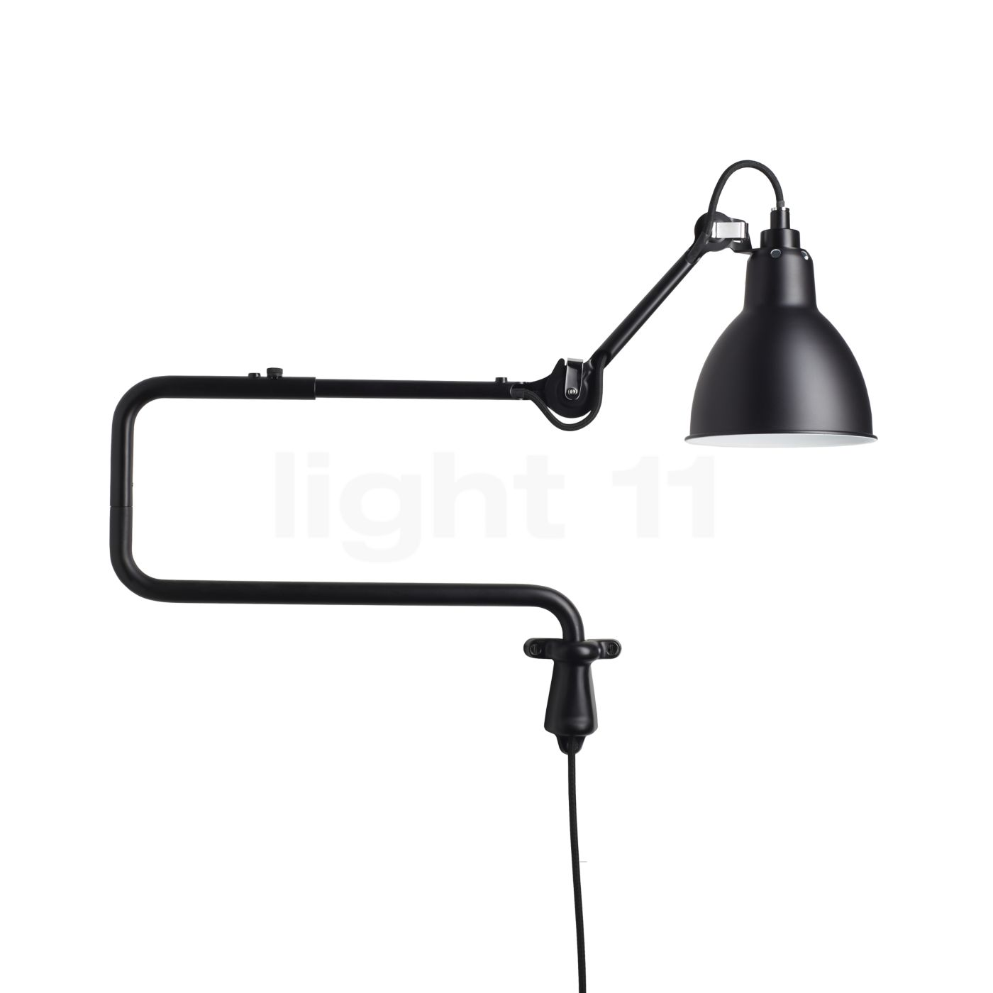 dcw lampe gras no 303 wandleuchte wandleuchten mit stecker. Black Bedroom Furniture Sets. Home Design Ideas