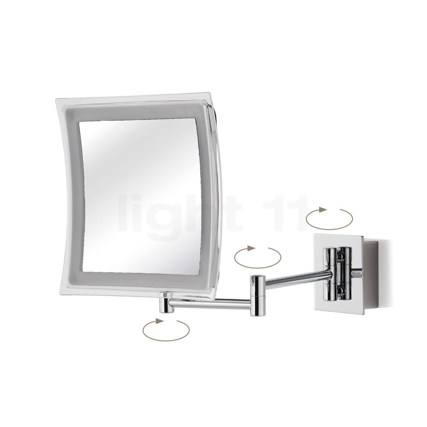decor walther bs 84 miroir de maquillage mural. Black Bedroom Furniture Sets. Home Design Ideas