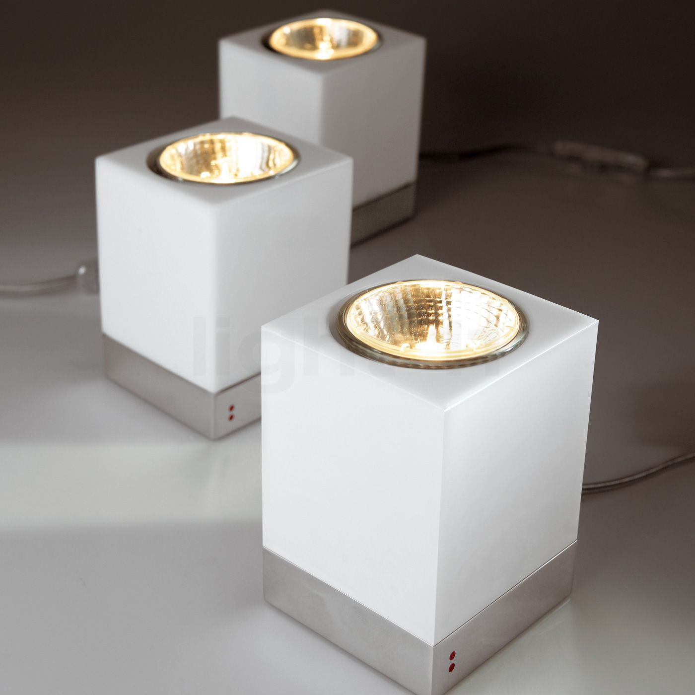 Fabbian cubetto table lamp gu10 buy at light11 geotapseo Images