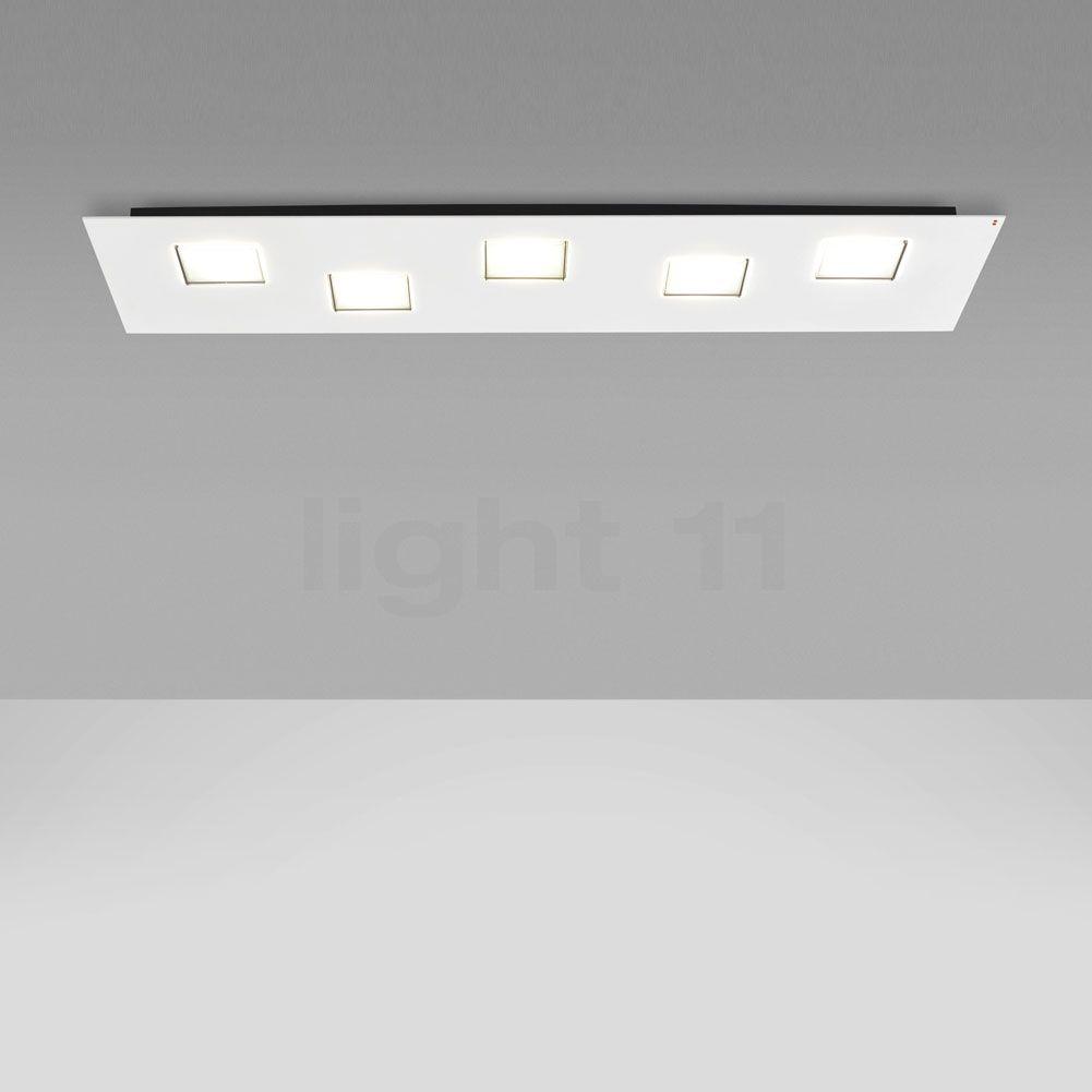 Lampe De Miroir Fabbian Quarter Lampe Muraleplafonnier 70 Cm Led