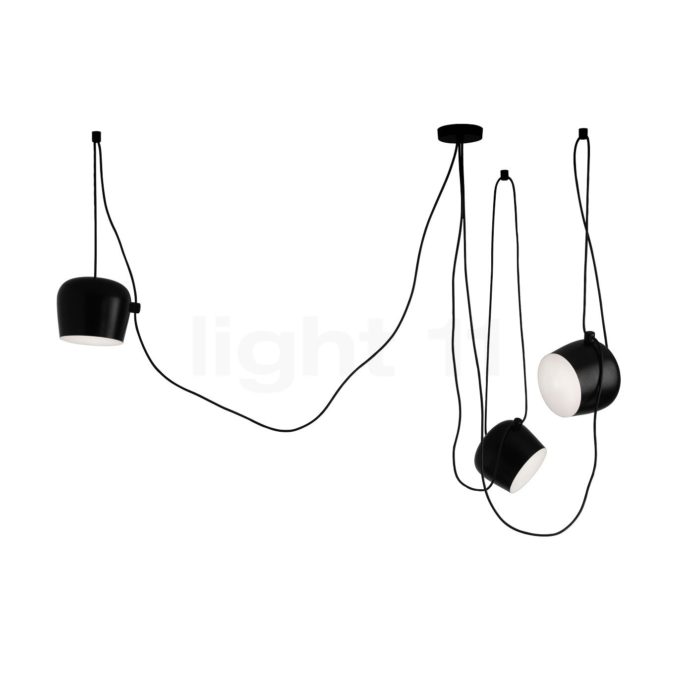 flos aim sospensione led 3 foyers suspension. Black Bedroom Furniture Sets. Home Design Ideas