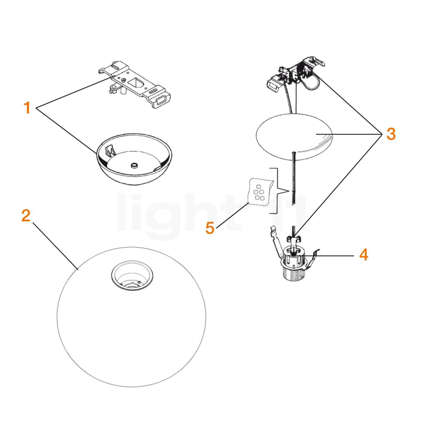 Flos_Spare_parts_for_Glo_Ball_S1--51a8caa574d534397de984ca7b030263 Elegantes Flos Glo Ball S Dekorationen