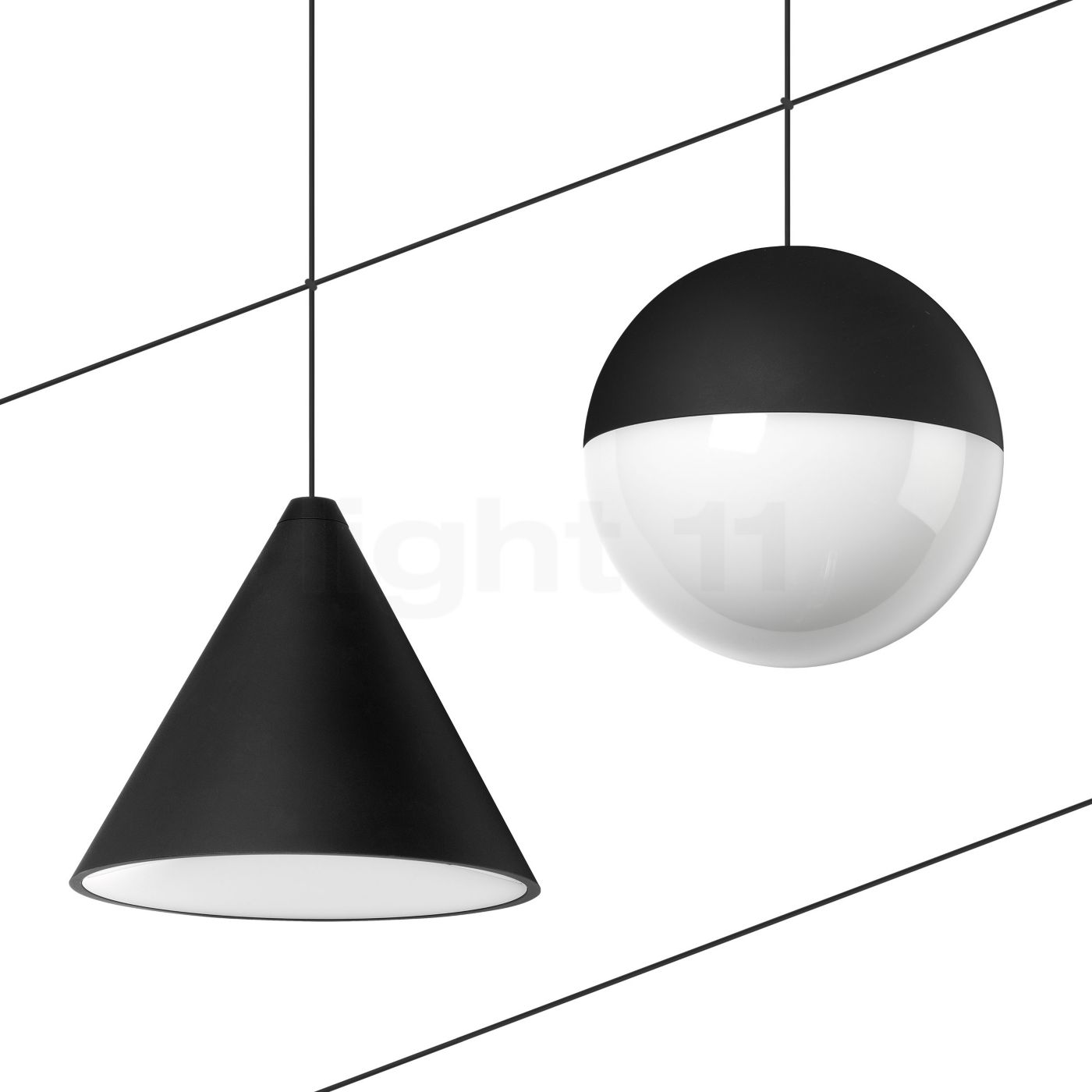 flos string light gedecentraliseerde hanglamp. Black Bedroom Furniture Sets. Home Design Ideas