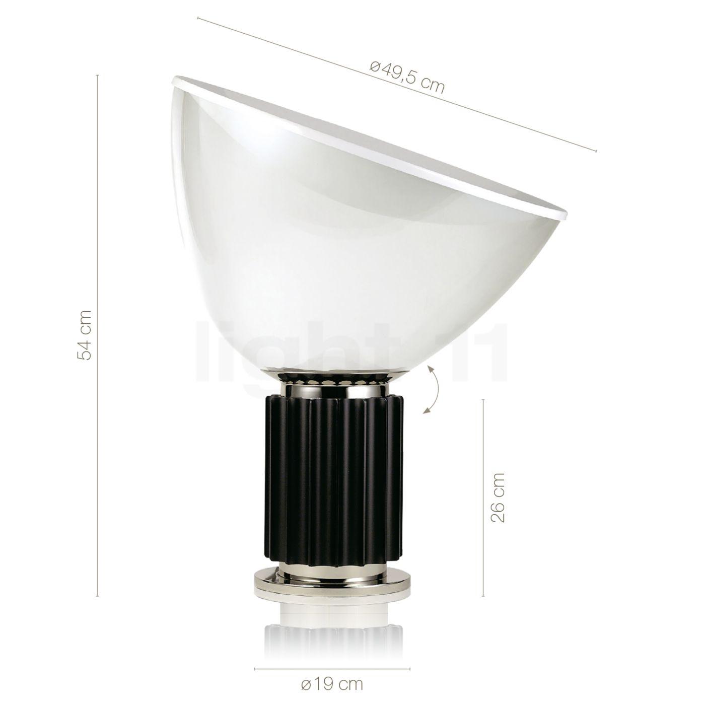 Buy Flos Taccia LED glass at light11.eu