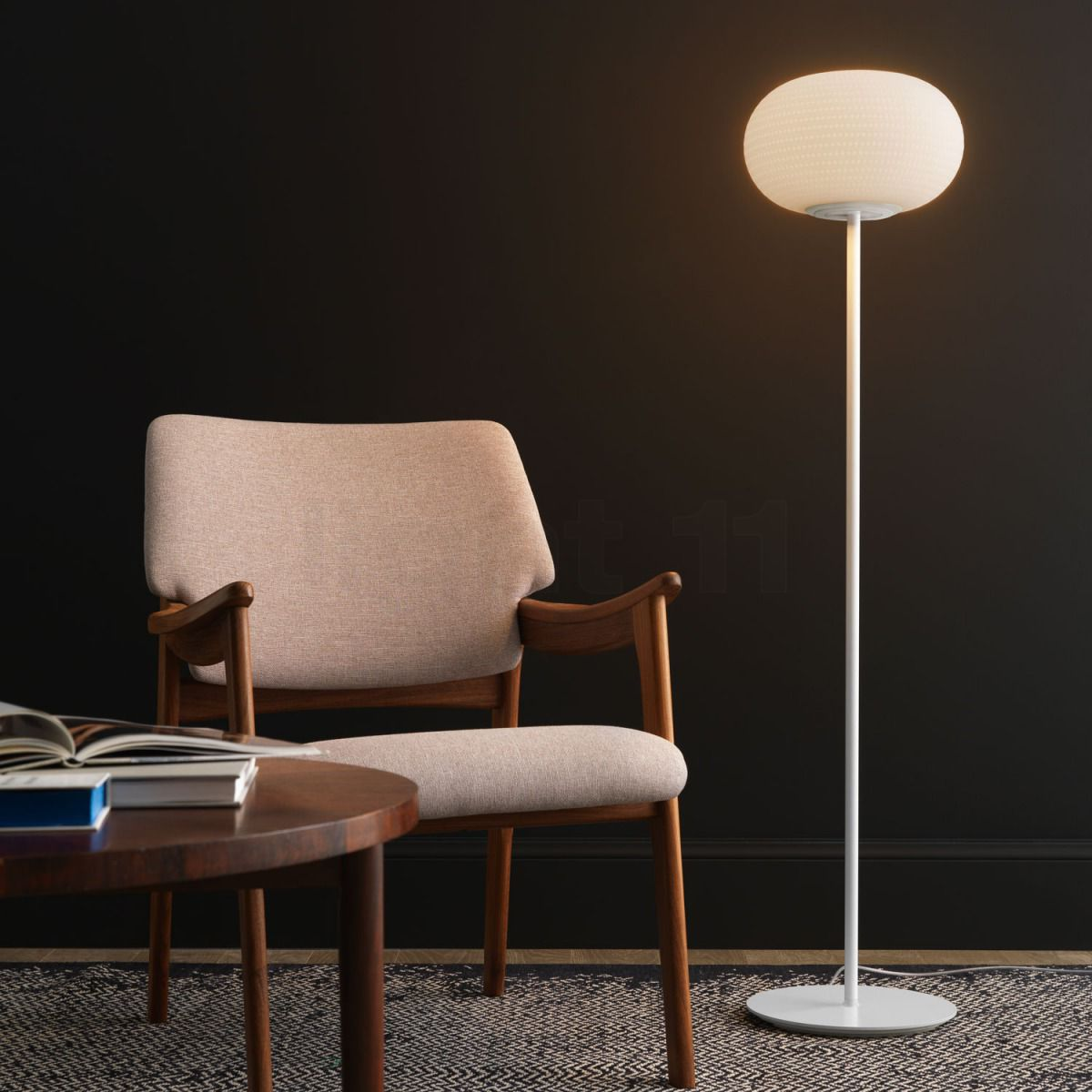& Buy Fontana Arte Bianca Floor lamp medium LED at light11.eu