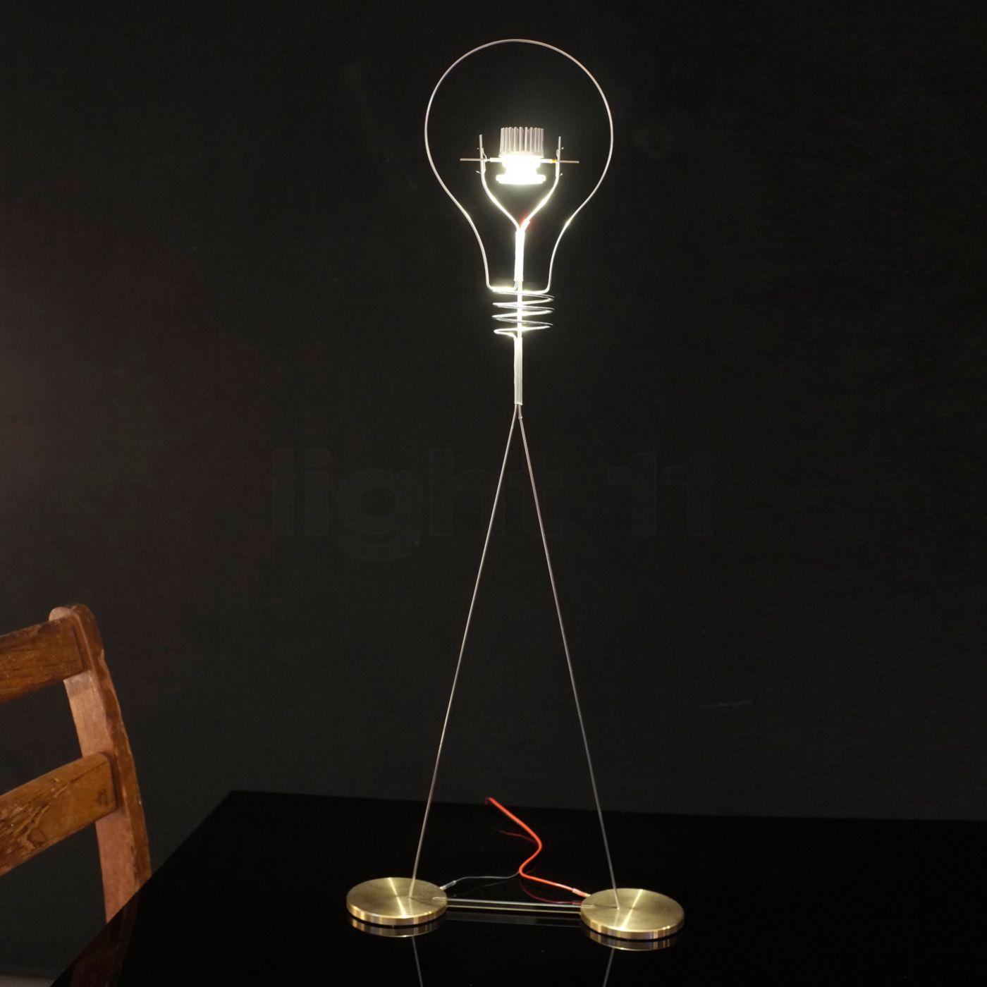 Buy ingo maurer walking bulb table lamp led at light11 aloadofball Images