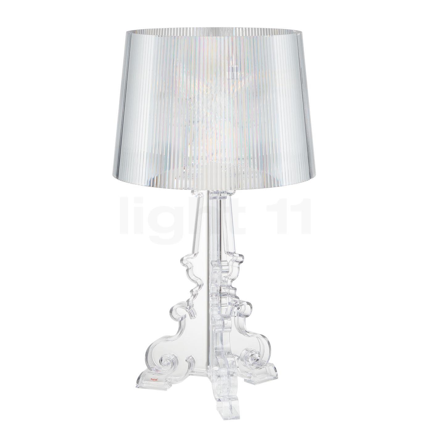 kartell bourgie bordlampe k be p. Black Bedroom Furniture Sets. Home Design Ideas