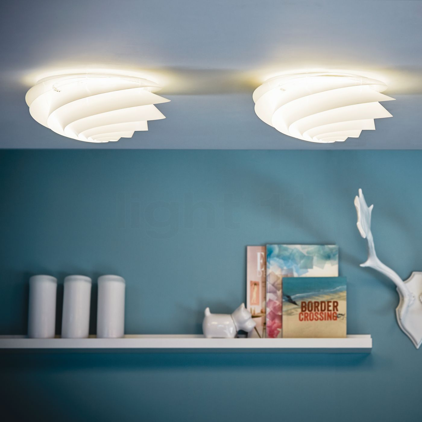 Buy Le Klint Swirl WallCeiling light at light11eu
