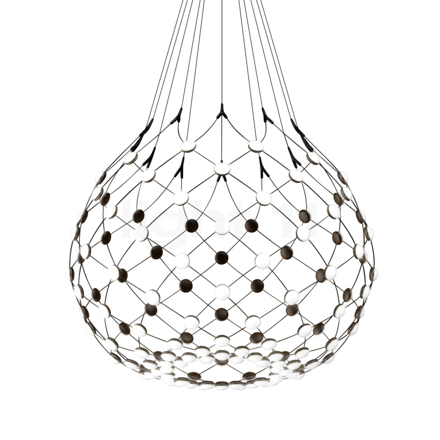 luceplan mesh pendant lights buy at. Black Bedroom Furniture Sets. Home Design Ideas