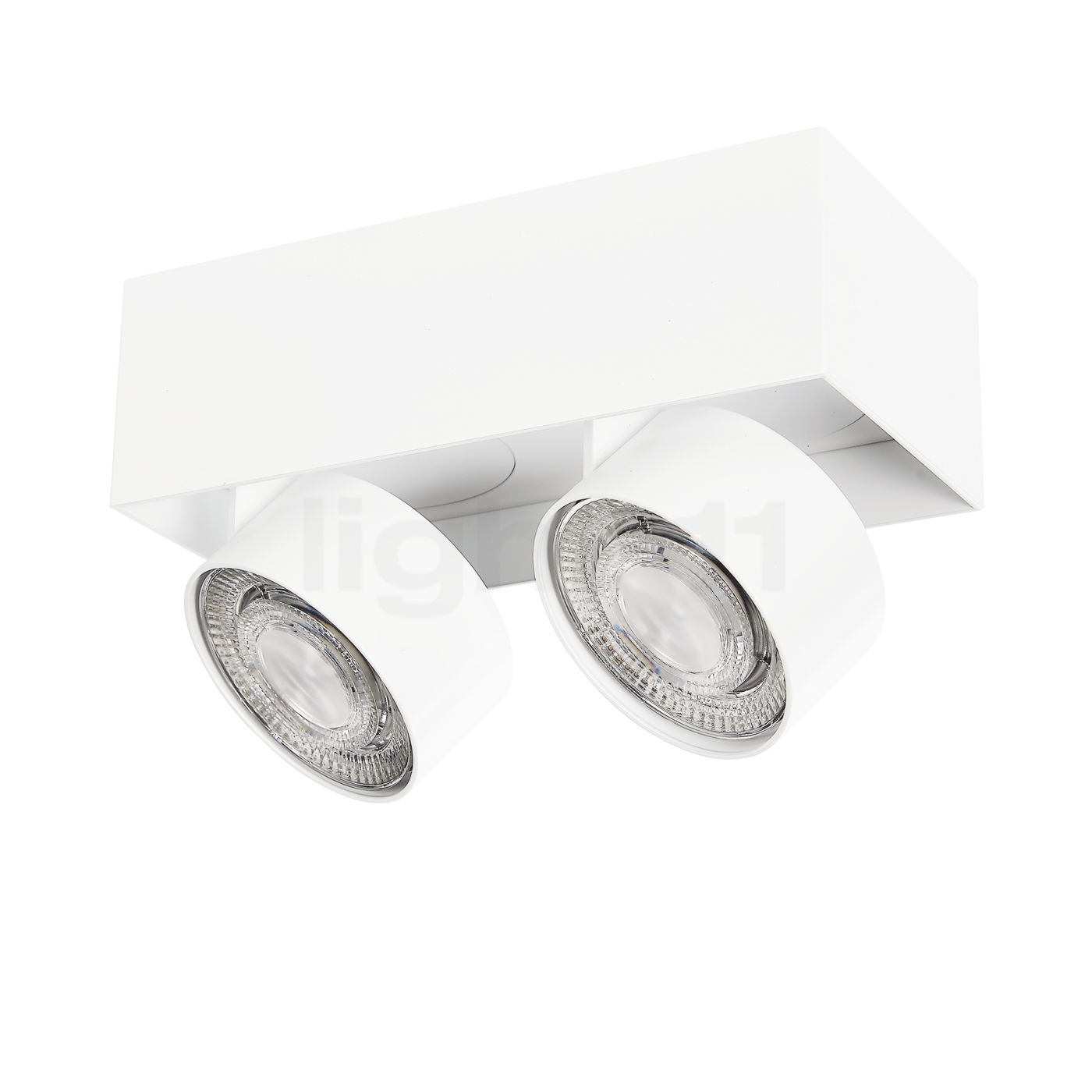 Buy Mawa Wittenberg 4.0 Ceiling Light semi-flush with two spots LED at
