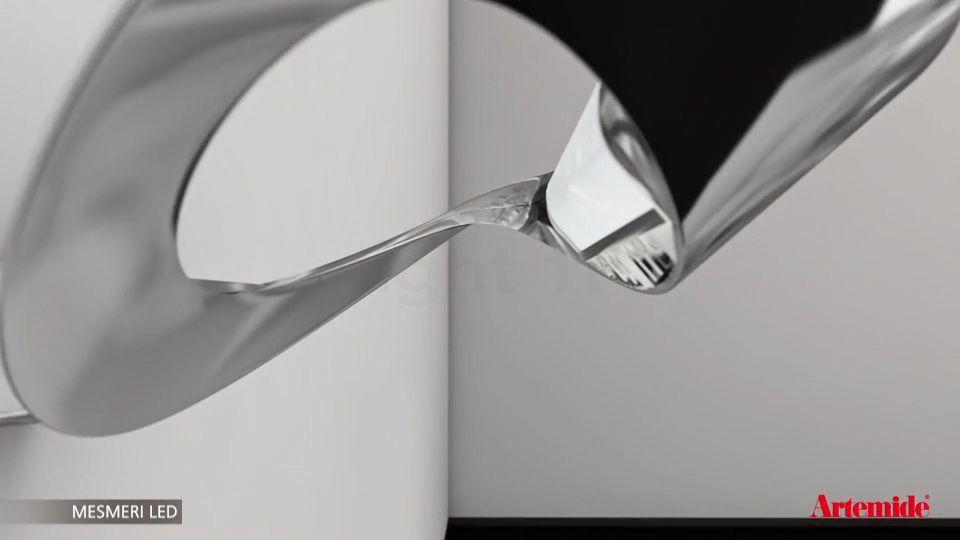 Applique artemide mesmeri parete halo light