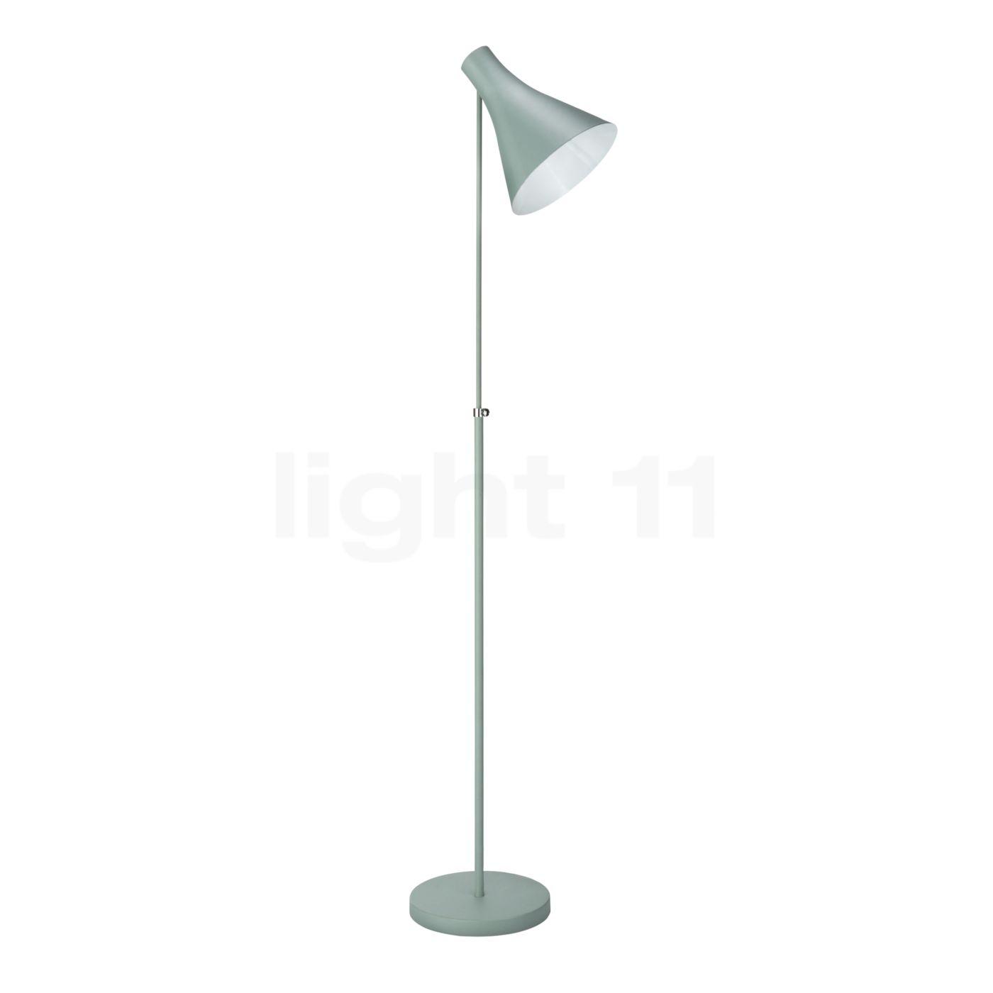 lampadaire vert d'eau