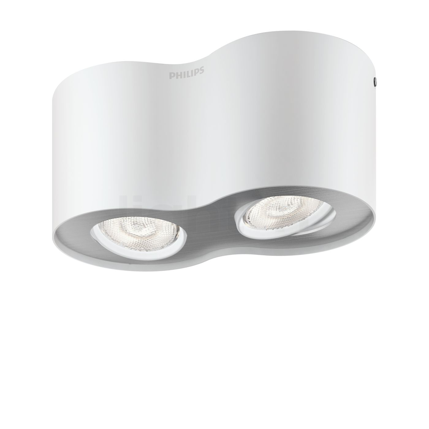 Philips myliving phase ceiling light led 2 lamps ceiling lights arubaitofo Image collections