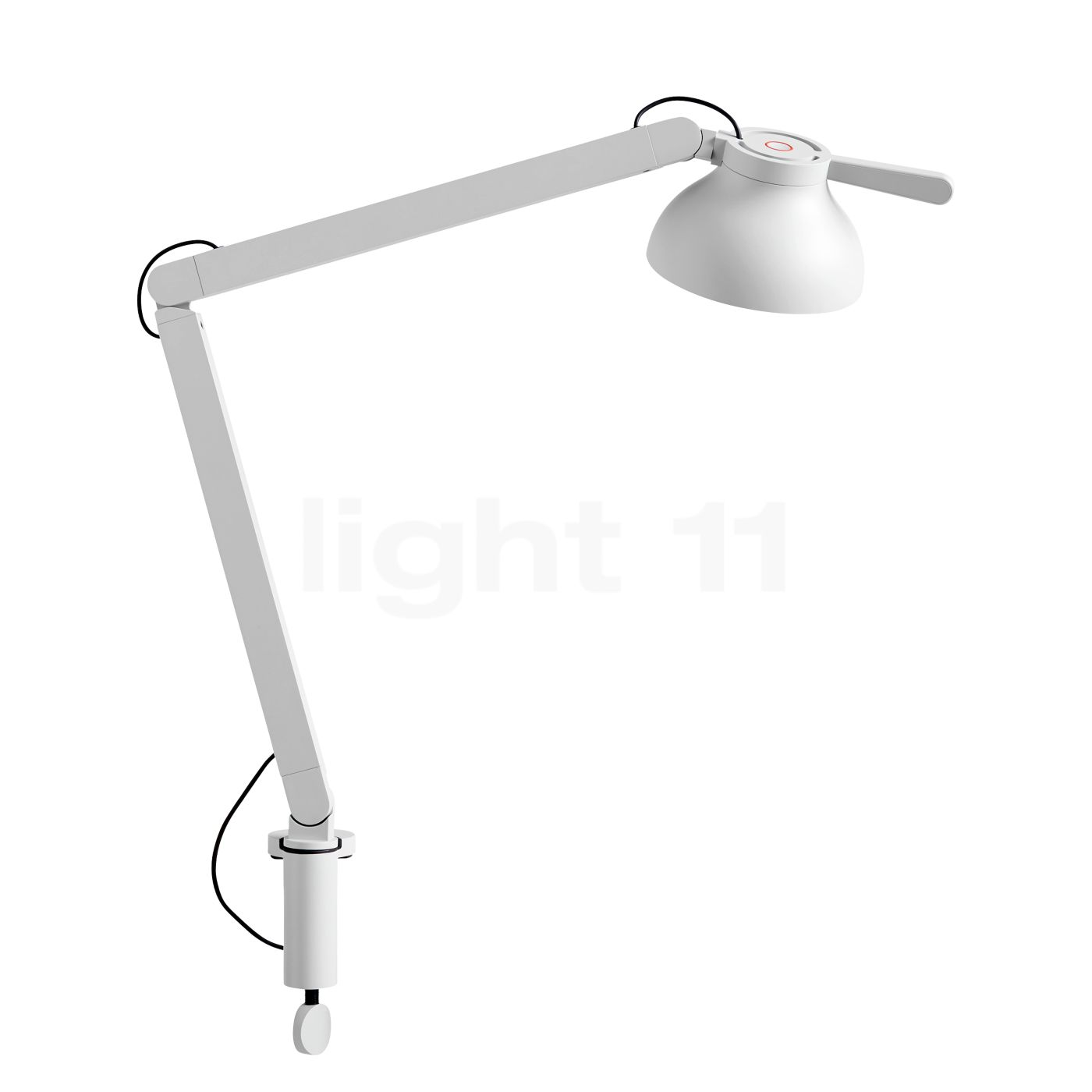 Buy Hay Pc Double Arm Table Lamp With Clamp Led At