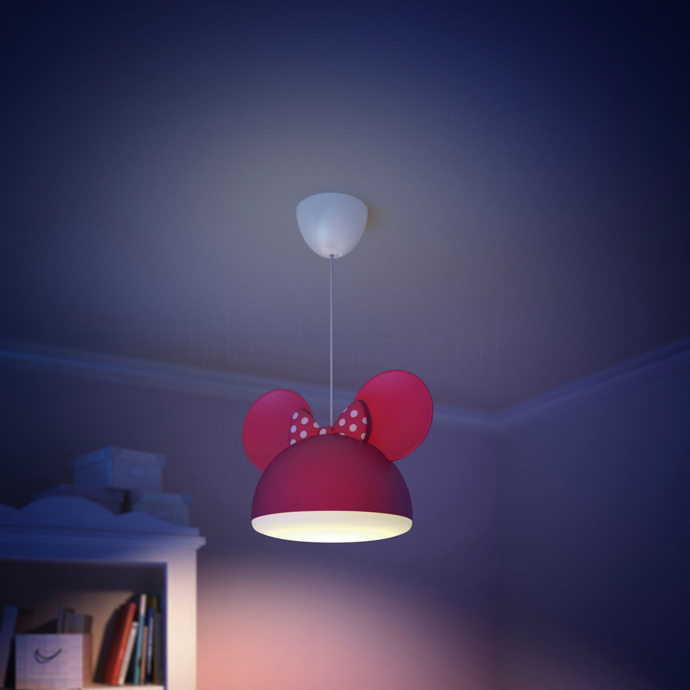 Philips disney minnie mouse pendant light red pendant lights arubaitofo Choice Image