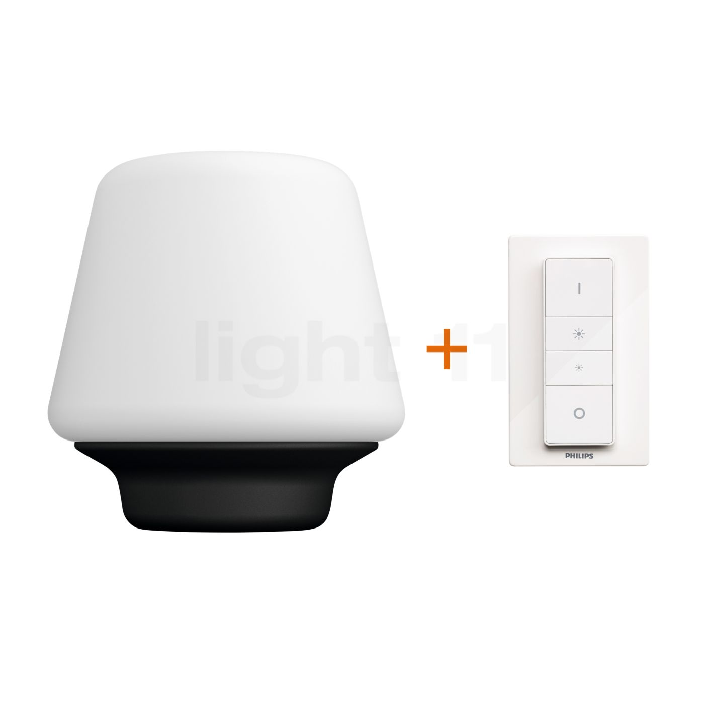 philips hue white ambiance wellness table lamp at. Black Bedroom Furniture Sets. Home Design Ideas