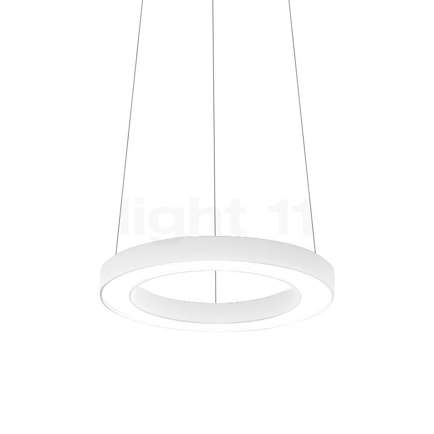 sc 1 st  Design lights u0026 designer l&s light11.eu & Buy Panzeri Silver Ring Pendant Light 78 LED at light11.eu