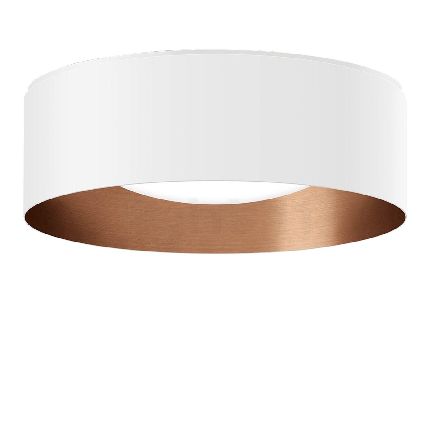 Kupfer Deckenlampe bega indoor studio line led-deckenleuchte rund kaufen bei light11.de