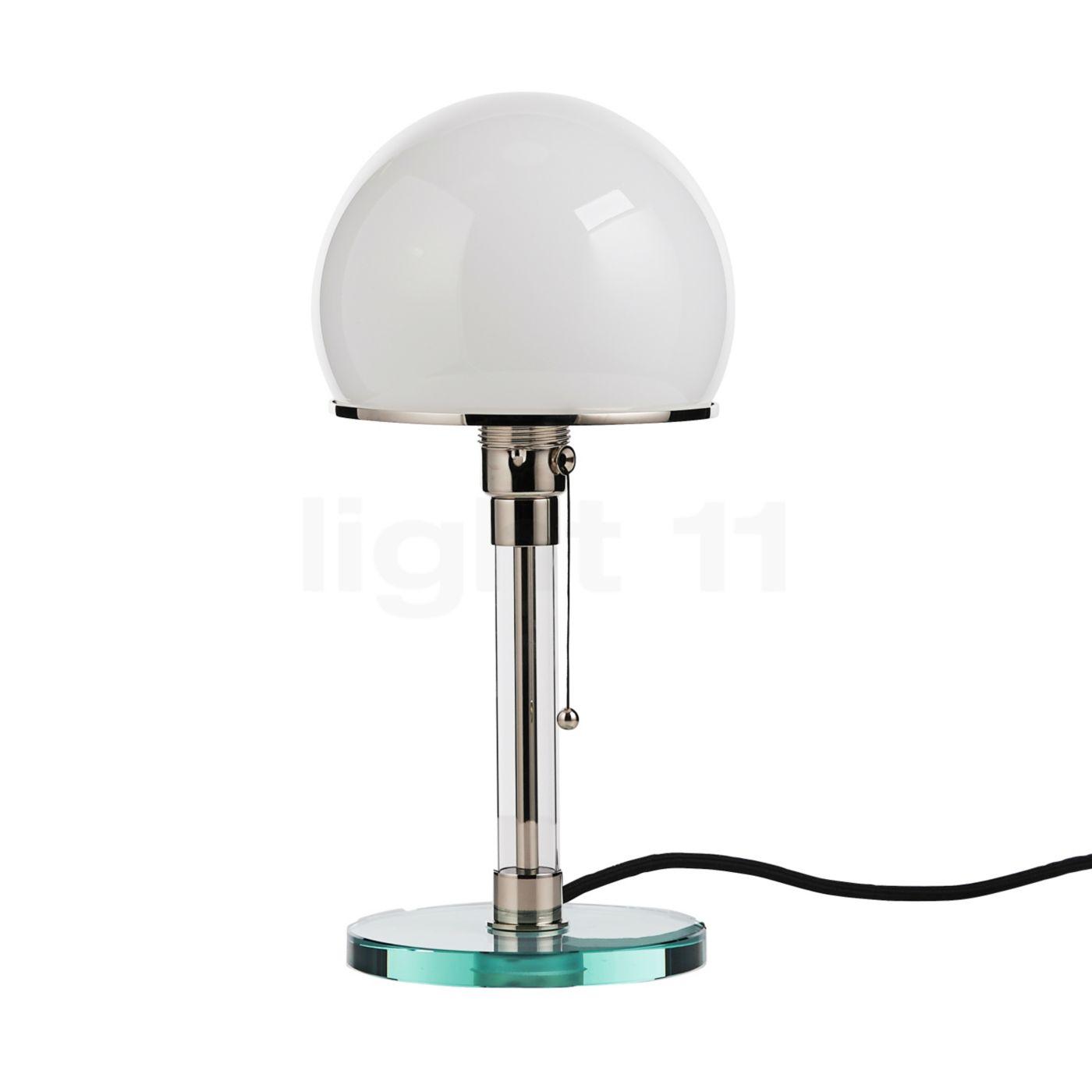 Tecnolumen Wagenfeld WG 24 Lampada da tavolo Lampada da comodino