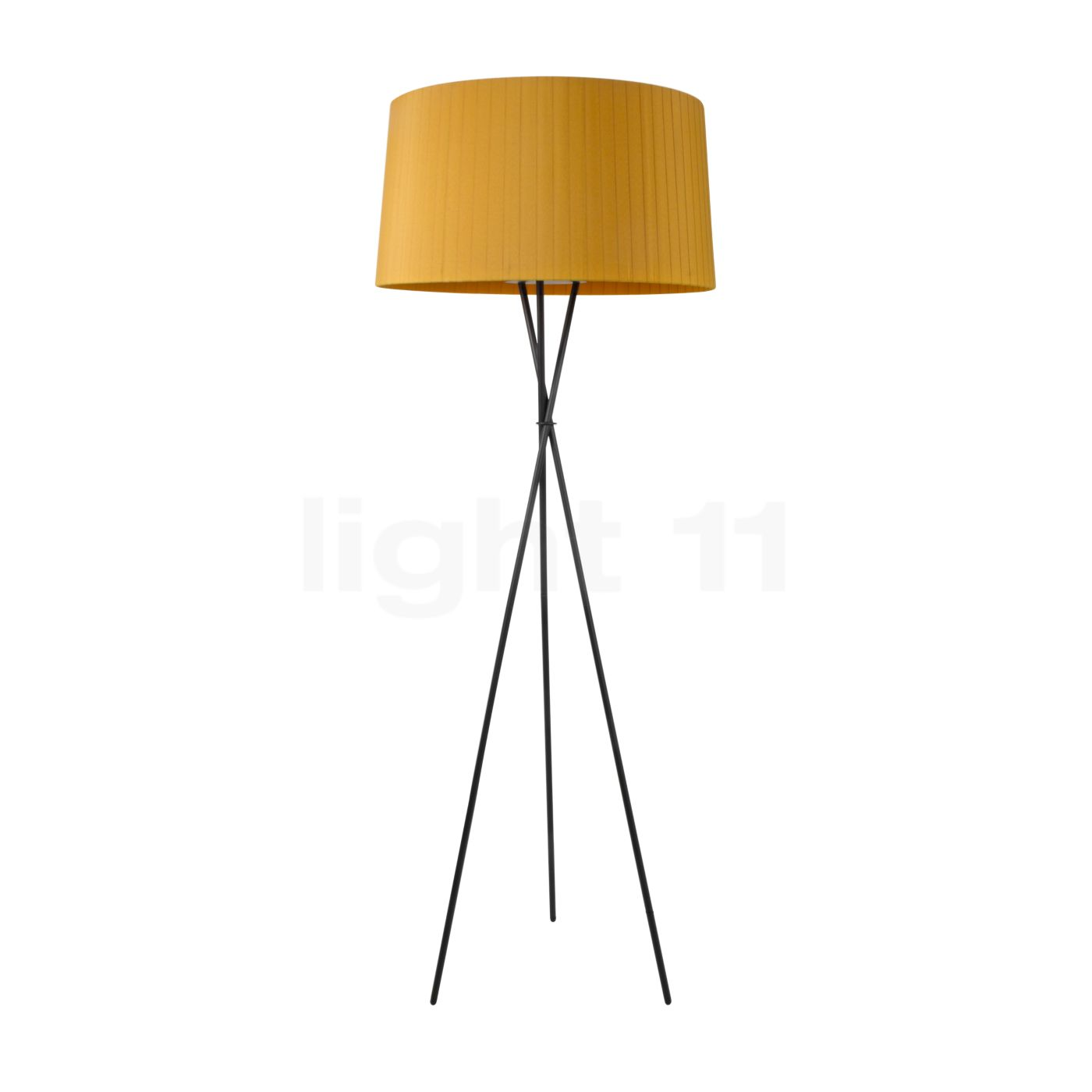 lampadaire moutarde