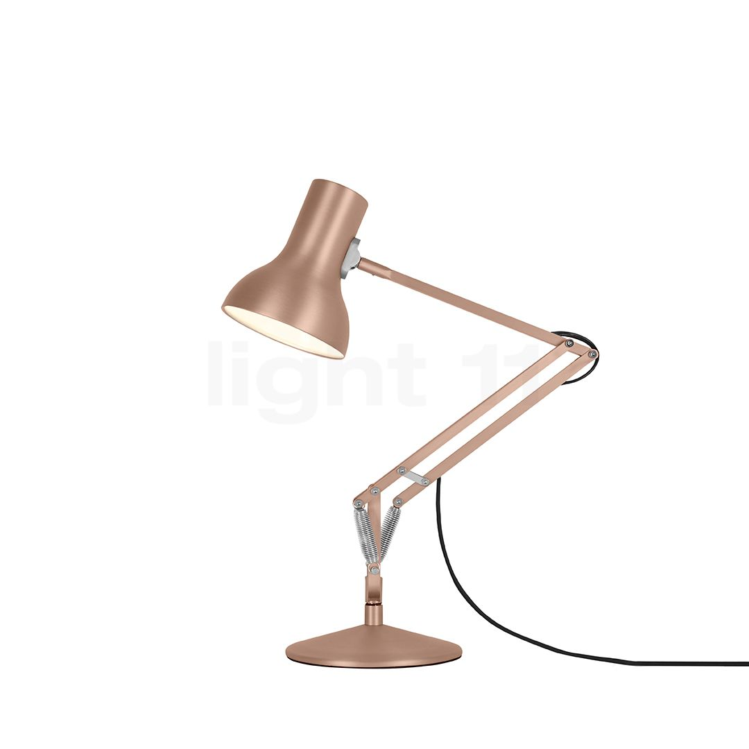 Type Bureau 75 Mini Chevet De Anglepoise Metallic Lampe JFTlcK1