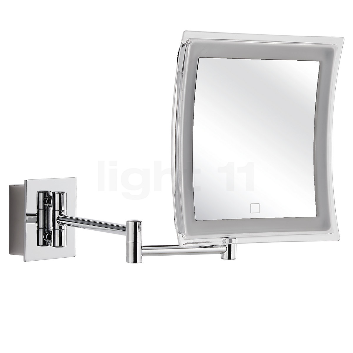 Image of: Buy Decor Walther Bs 84 Touch Wall Mounted Cosmetic Mirror Led At