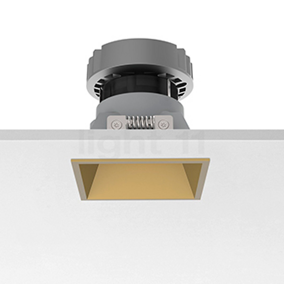 Flos Kap Square.Buy Flos Architectural Easy Kap 80 Recessed Ceiling Light