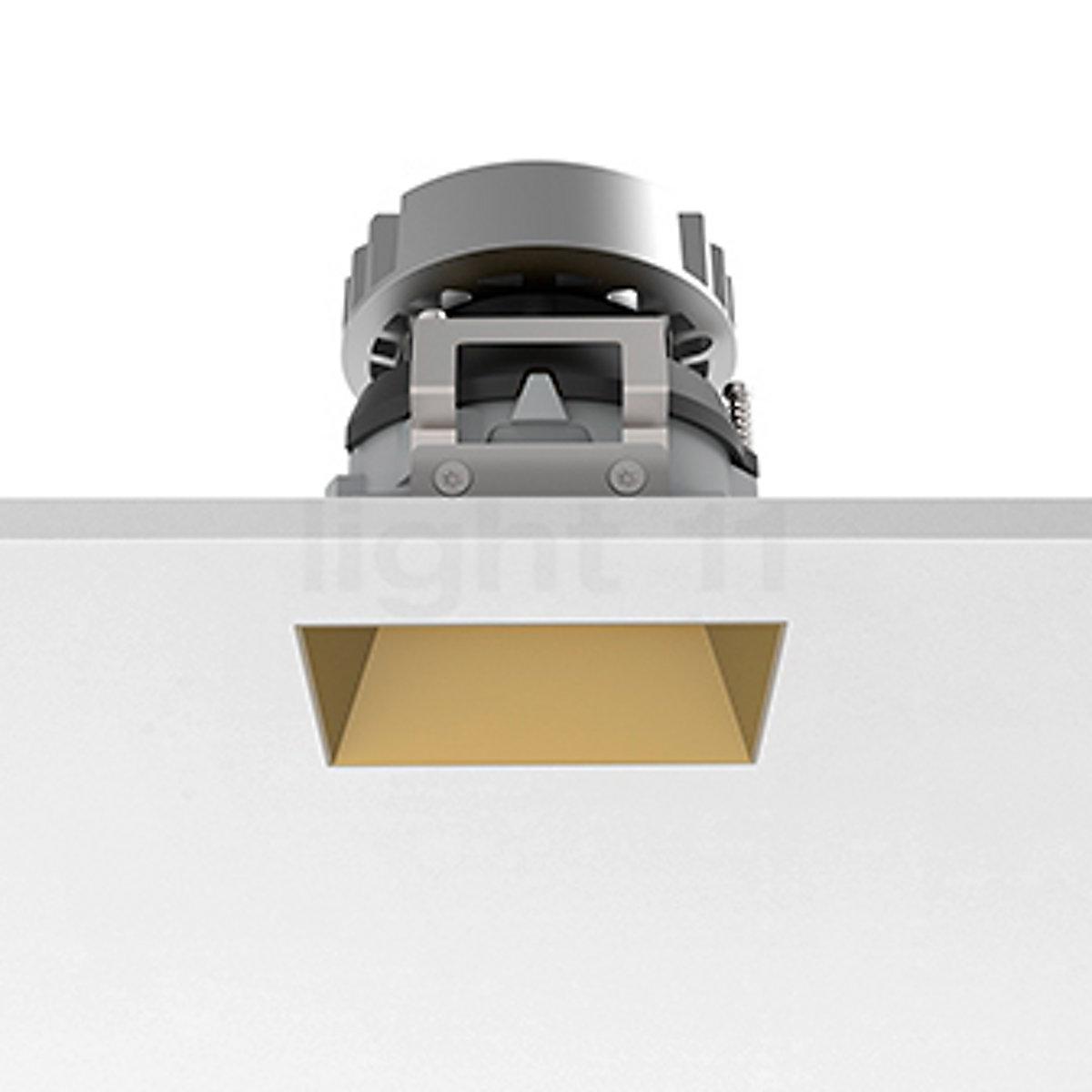 Flos Kap Square.Buy Flos Architectural Kap 80 Recessed Ceiling Light Square