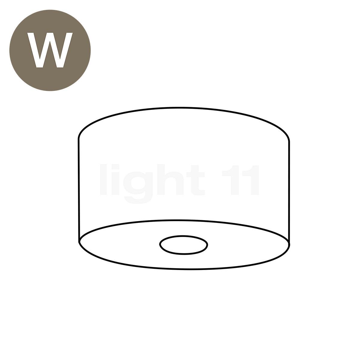 Luceplan Reserveonderdelen Voor Costanza Sospensione Met Telescoopstang