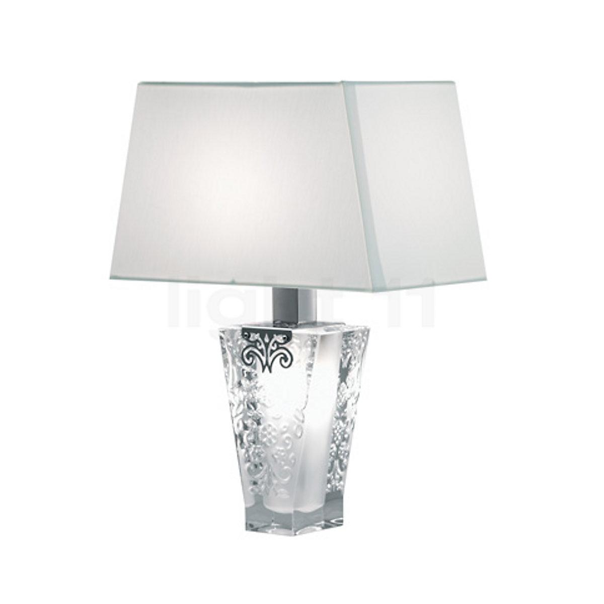 Petites Lampes De Table Fabbian Vicky Lampe De Table Avec Abat Jour