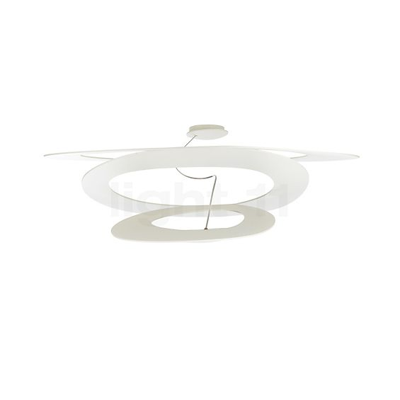 Artemide Pirce Mini Soffitto LED in the 3D viewing mode for a closer look