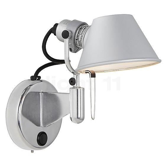 Artemide Tolomeo Micro Faretto LED con interruptor