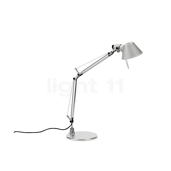 artemide tolomeo micro led mit fu schreibtischleuchte. Black Bedroom Furniture Sets. Home Design Ideas