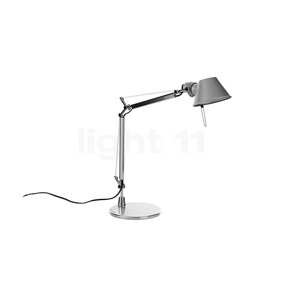 Artemide Tolomeo Micro with base in the 3D viewing mode for a closer look