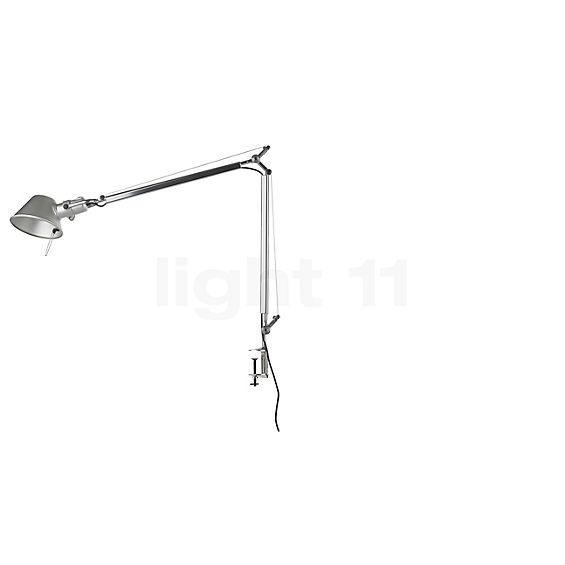 Artemide Tolomeo Tavolo LED mit Tischklemme in der Rundumansicht zur genaueren Betrachtung
