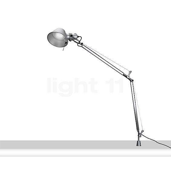 Artemide Tolomeo Tavolo LED with table pivot