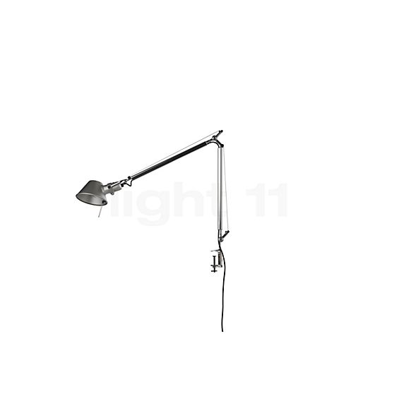 Artemide Tolomeo Tavolo with clamp in the 3D viewing mode for a closer look