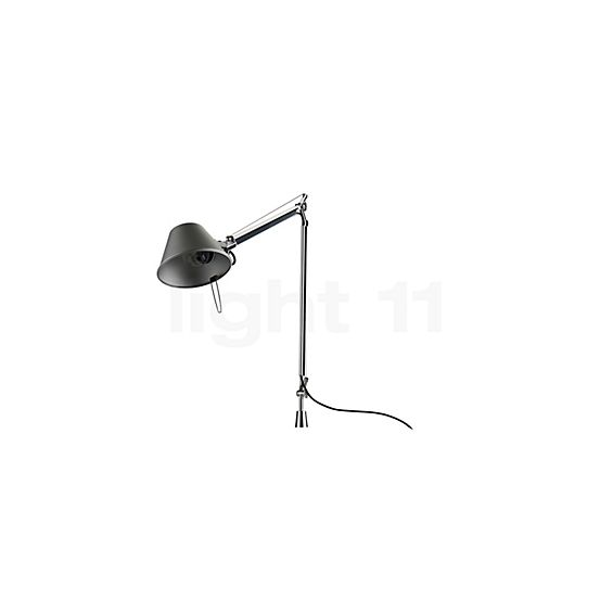 Artemide Tolomeo Tavolo with table pivot in the 3D viewing mode for a closer look