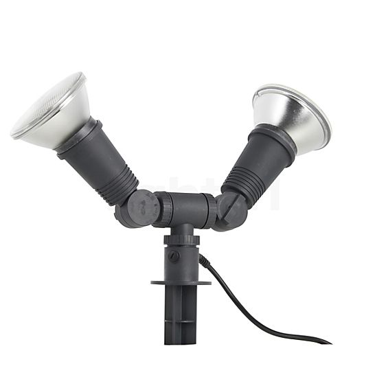 Bega 77942 - Dual Flood Light with Ground Spike in the 3D viewing mode for a closer look